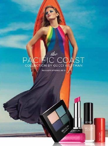 Весенне-летняя коллекция макияжа Revlon Pacific Coast Spring-Summer 2013 Makeup Collection