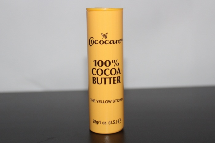 Масло какао в виде стика Cococare, 100% Cocoa Butter, The Yellow Stick (28 г.)