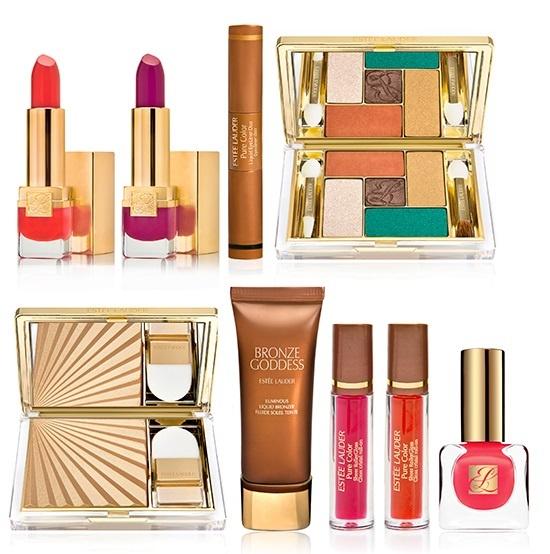 Летняя коллекция макияжа Estee Lauder Bronze Goddess Summer 2013 Collection