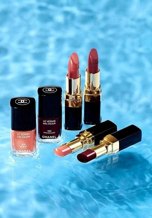 Весенне-летняя коллекция макияжа Chanel Avant Premiere de Chanel Spring-Summer 2013 Collection