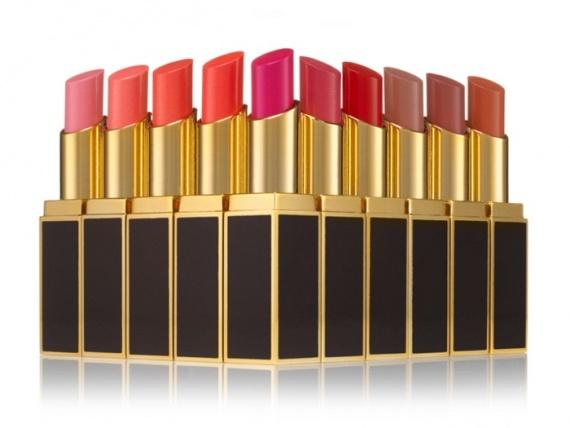 Коллекция губных помад Tom Ford Lip Color Shines Collection
