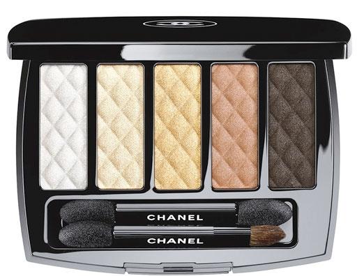 Палетка для макияжа глаз Chanel Ombres Matelassees
