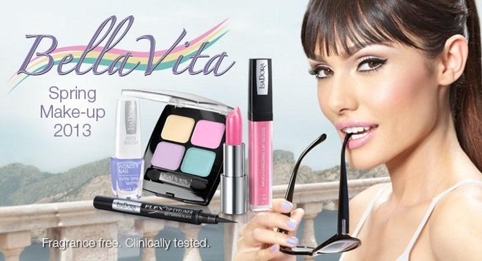 Весенняя коллекция макияжа Isadora Bella Vita Spring 2013 Collection