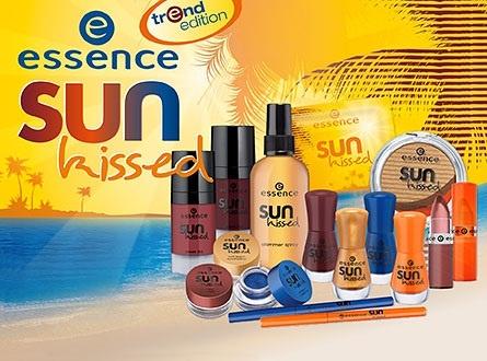Летняя коллекция макияжа Essence Sun Kissed Summer 2013 Collection