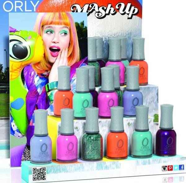 Летняя коллекция лаков для ногтей ORLY Mash Up Summer 2013 Collection