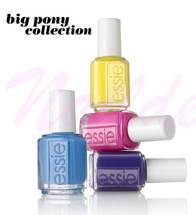 Летняя коллекция лаков для ногтей Essie Big Pony Summer 2013 Collection