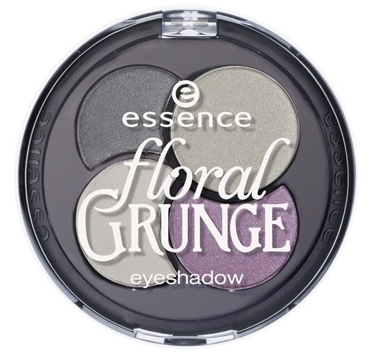 Четырехцветные тени для век Essence Floral Grunge Quattro Eyeshadow №02 Eye Like Grunge