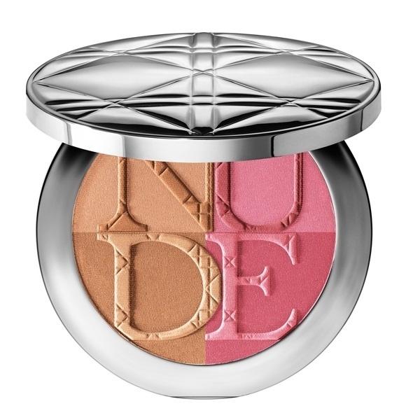 Бронзирующая пудра-румяна Diorskin Nude Tan Paradise Duo №001 Pink Glow