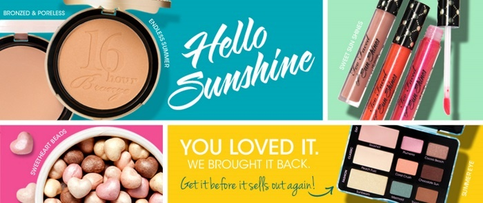 Летняя коллекция макияжа Too Faced Hello Sunshine Summer 2013 Makeup Collection
