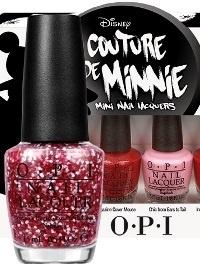 Летняя коллекция лаков для ногтей OPI Couture de Minnie Summer 2013 Nail Polishes Collection