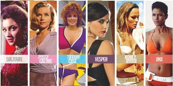 Летняя коллекция лаков для ногтей OPI Bond Girls Summer 2013 Collection