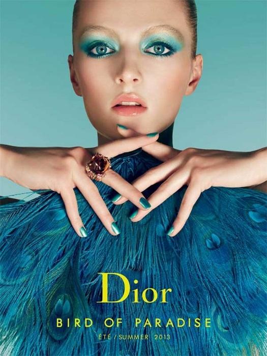 Летняя коллекция макияжа Dior Bird of Paradise Summer 2013 Collection