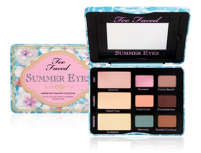 Палетка теней для век Too Faced Summer Eye Sexy Shadow Collection