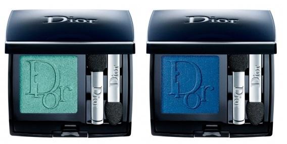 Одиночные тени для век Diorshow Mono Eyeshadow №351 Feather, №273 Parati