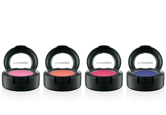 Одиночные тени для век MAC Fashion Sets Eyeshadow Heroine, Ablaze, Silly, Embrace Me