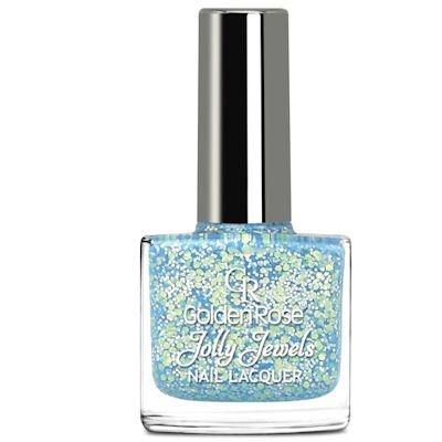 желейный лак для ногтей с блестками Golden Rose Jolly Jewels №111