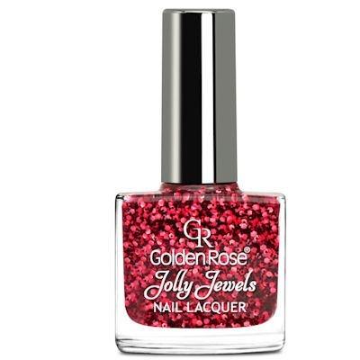желейный лак для ногтей с блестками Golden Rose Jolly Jewels №116