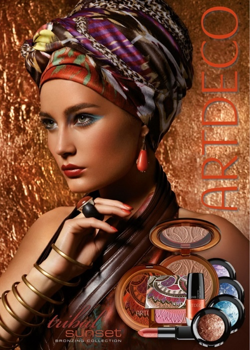 Летняя коллекция бронзирующего макияжа ARTDECO Tribal Sunset Summer 2013 Bronzing Collection