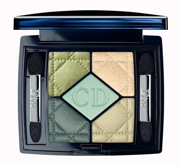 Пятицветные тени для век Dior 5 Couleur Eyeshadow palette №374 Blue Lagoon