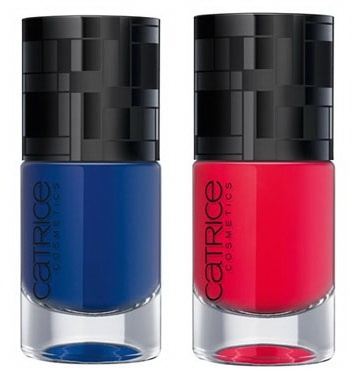 Лак для ногтей Geometrix Ultimate Nail Lacquer C01 Blue C02 Red
