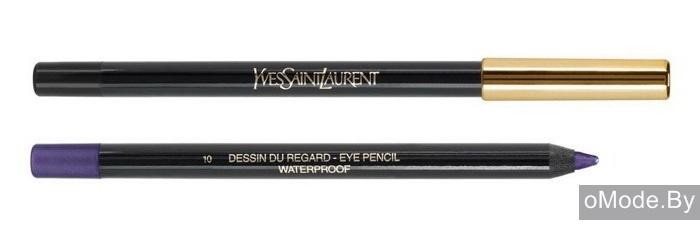 Водостойкий карандаш для глаз YSL Terre Saharienne Summer 2013 Dessin Du Regard Crayon Yeux Waterproof №10 Violet Massa