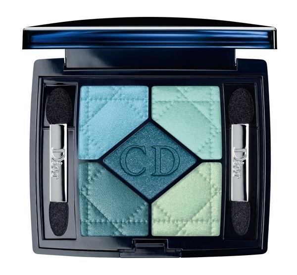 Пятицветные тени для век Dior 5 Couleur Eyeshadow palette №434 Peacock