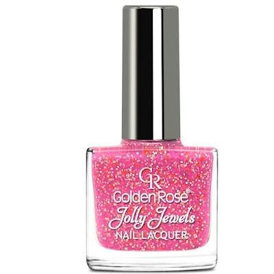желейный лак для ногтей с блестками Golden Rose Jolly Jewels №113