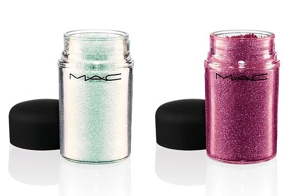 Рассыпчатый пигмент MAC Baking Beauties Glitter Reflects Transparent Teal, Pink