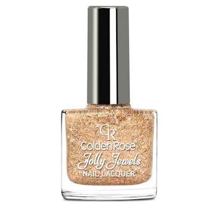 желейный лак для ногтей с блестками Golden Rose Jolly Jewels №103