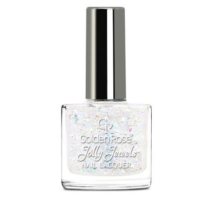 желейный лак для ногтей с блестками Golden Rose Jolly Jewels №101