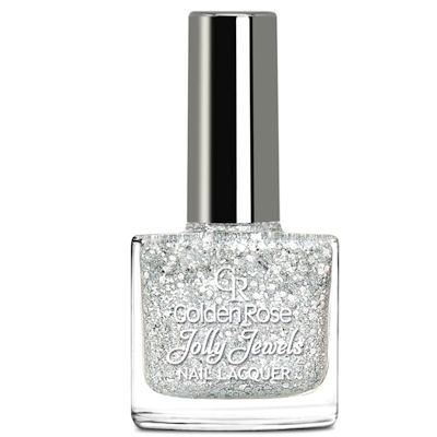 желейный лак для ногтей с блестками Golden Rose Jolly Jewels №102