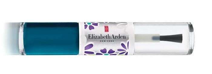 Двойной лак для ногтей Elizabeth Arden  Nail Lacquer Duo Teal Blossom  (лимитированный выпуск)