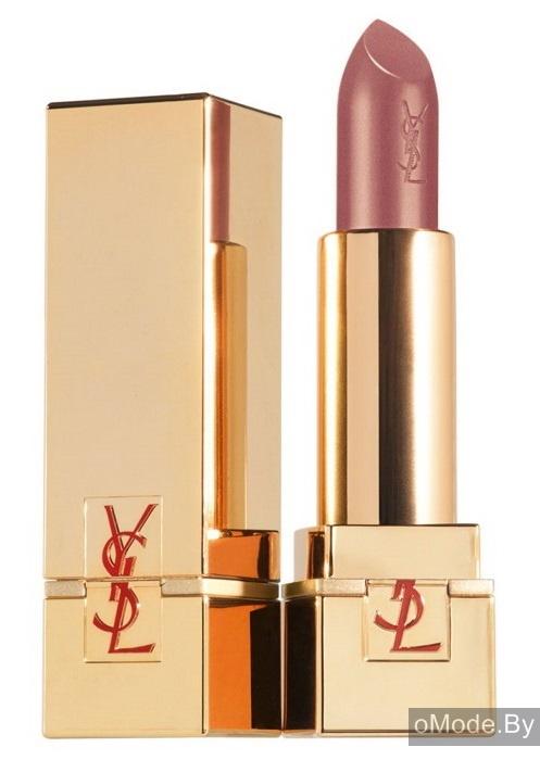 Губная помада с блеском YSL Terre Saharienne Summer 2013 Rouge Pur Couture Golden Lustre №114 Rose De Saba