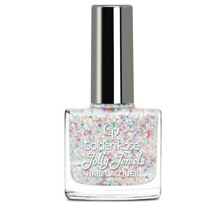 желейный лак для ногтей с блестками Golden Rose Jolly Jewels №115