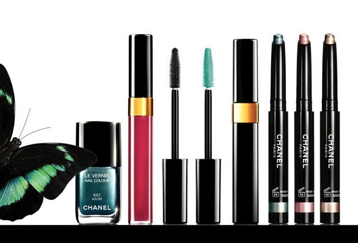 Летняя коллекция макияжа L'été Papillon De Chanel Summer 2013 Makeup Collection