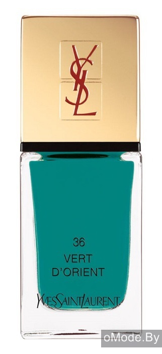 Лак для ногтей YSL Terre Saharienne Summer 2013 La Laque Couture №36 Vert D'Orient