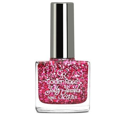 желейный лак для ногтей с блестками Golden Rose Jolly Jewels №108