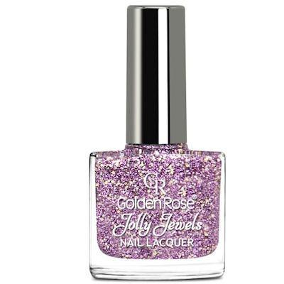 желейный лак для ногтей с блестками Golden Rose Jolly Jewels №112