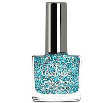 желейный лак для ногтей с блестками Golden Rose Jolly Jewels №114