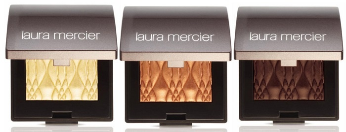 Блестящие тени для век Laura Mercier Illuminating Eye Colour Sun Glow Fire Glow Earth Glow