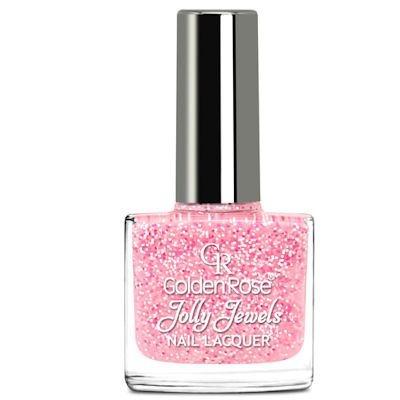 желейный лак для ногтей с блестками Golden Rose Jolly Jewels №109