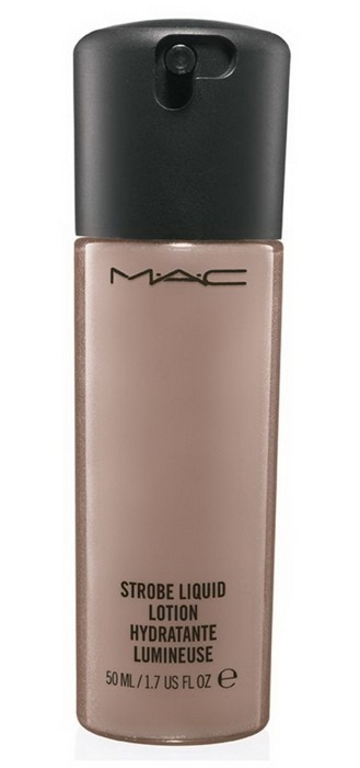 Лосьон-люминайзер с радужными  пигментами MAC Strobe Liquid Lotion Golden Elixir
