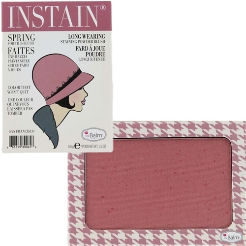 румяна для лица theBalm Instain Powder Blush Houndstooth (лиловый)