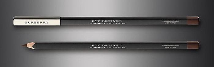 Контурный карандаш для глаз Burberry English Rose Eye Definer №02 Midnight Brown