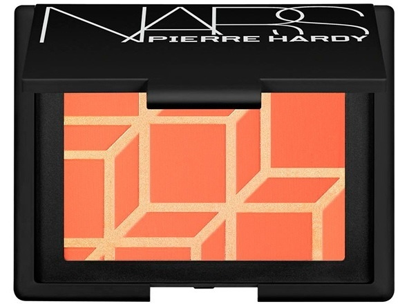 Компактные румяна NARS Pierre Hardy Blush - Boys Don't Cry - Pink grapefruit with shimmering gold over-spray