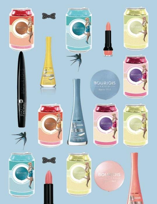 Весенняя коллекция макияжа Bourjois Sixties Remix Spring 2013 Collection