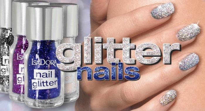 Новая коллекция рассыпчатых глиттеров и лаков для ногтей Isadora Nail Glitter Collection