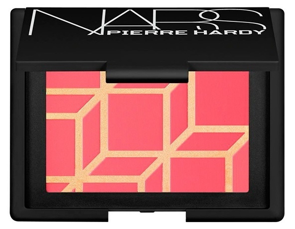 Компактные румяна NARS Pierre Hardy Blush - Rotonde - Tiger lily with shimmering gold over-spray