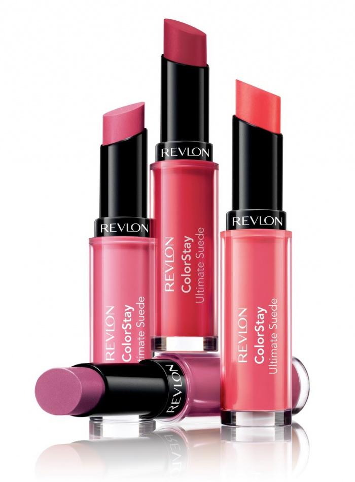Новая коллекция полуматовых губных помад Revlon ColorStay Ultimate Suede Lipsticks Collection