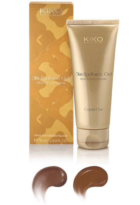 Гелевый бронзер для лица и тела KIKO Skin Radiance Gel Face & Body Bronzer
